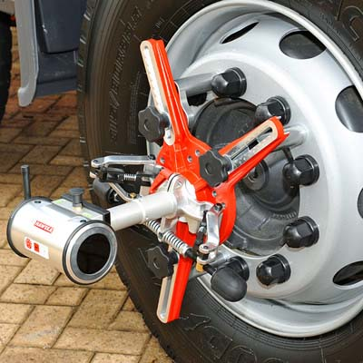 Bremco for Haweka Axis 4000 Chassis & Wheel Alignment systems